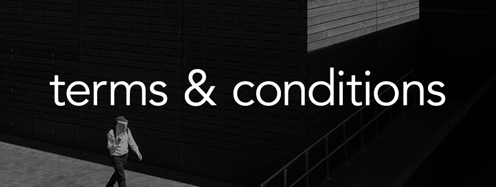 terms conditions - TERMS AND CONDITIONS
