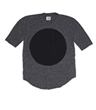 oversized adult circle t-shirt
