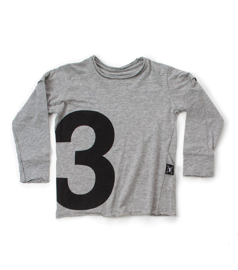 numbered t-shirt