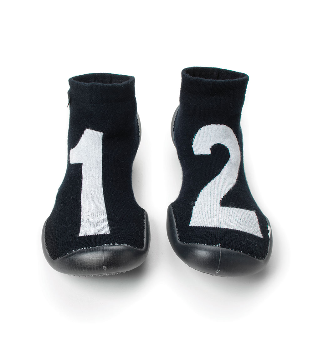 collégien nununu numbered slippers