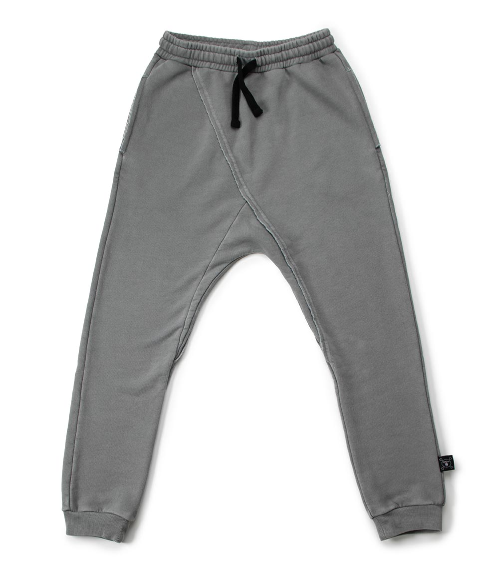 raw sweat pants