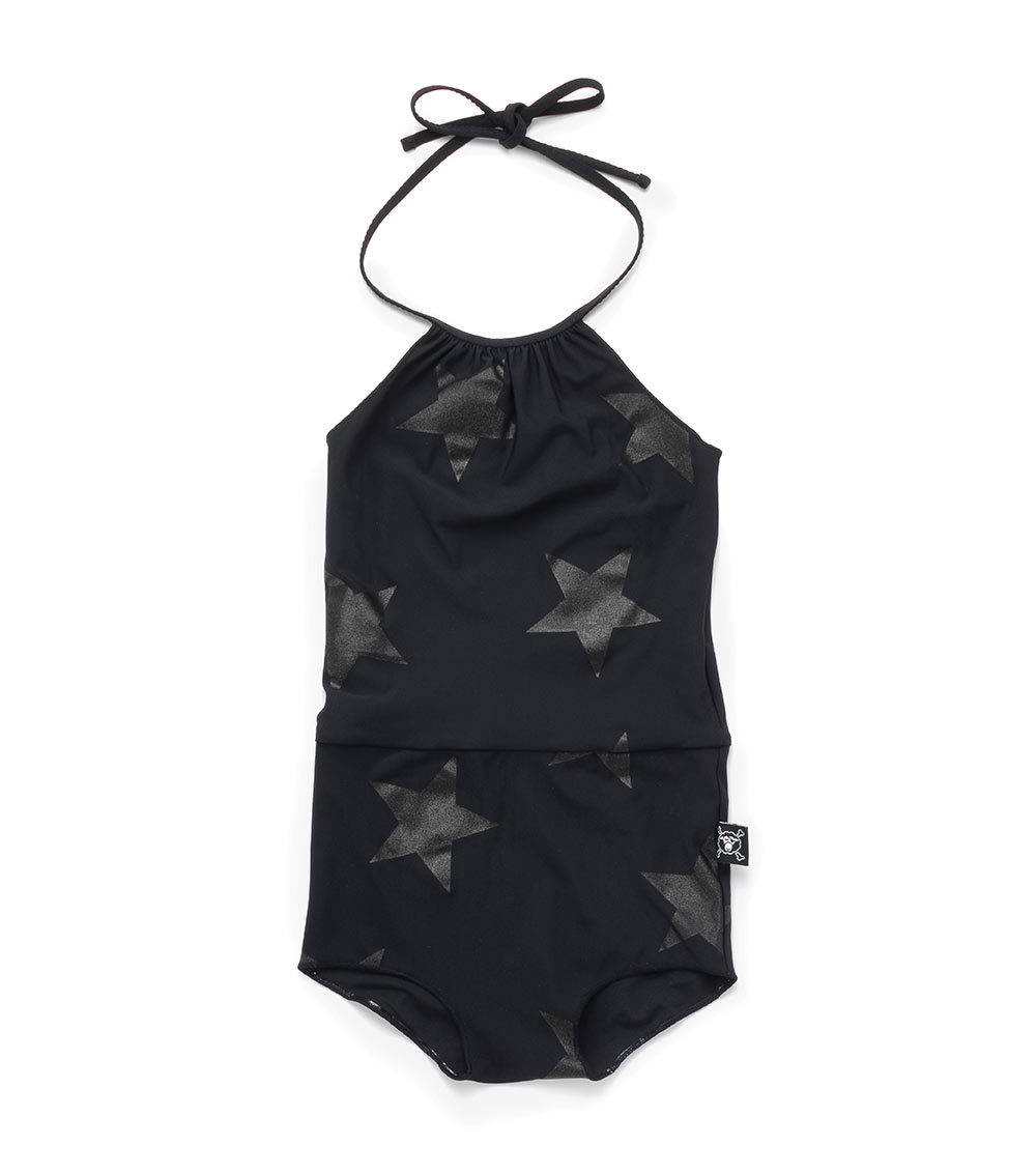 star collar swimsuit