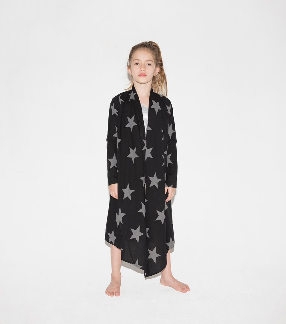 star voile cardigan