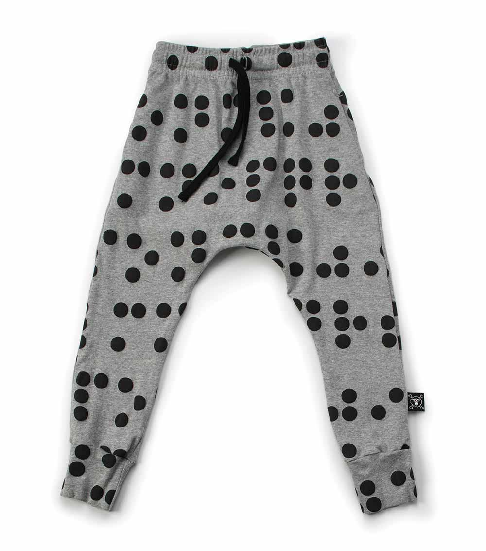 light braille baggy pants
