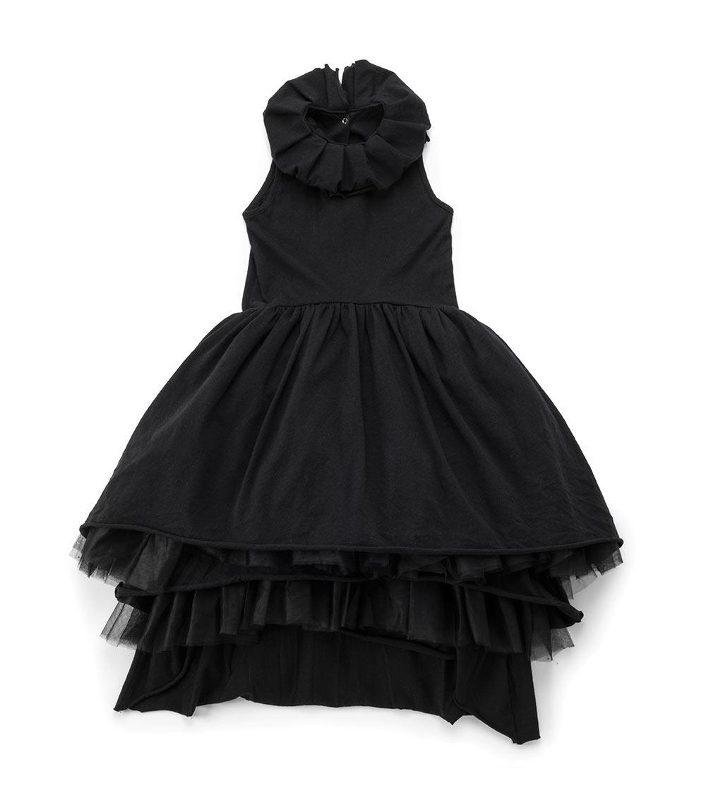 black victorian dress for kids - NUNUNU WORLD