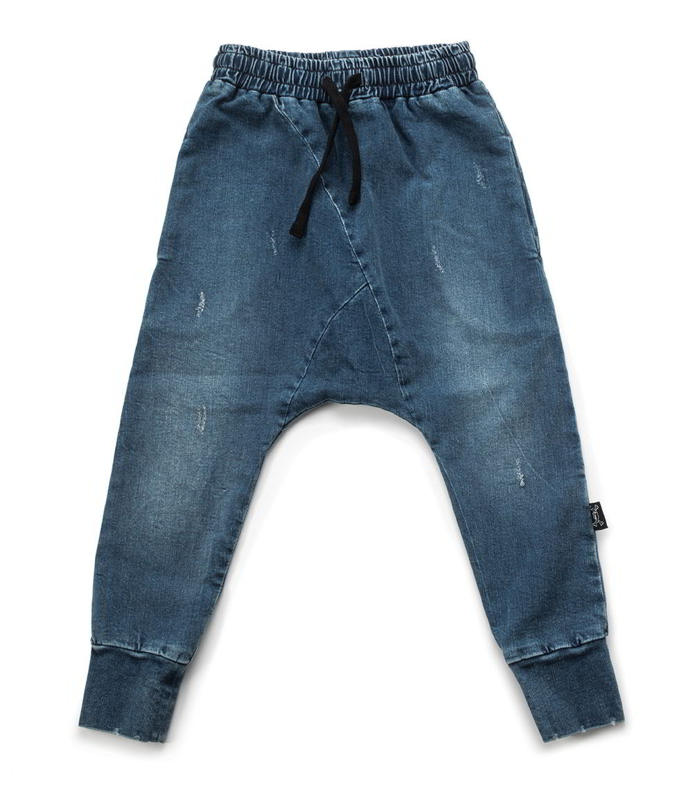 raw denim pants