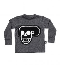 SKULL ROBOT PATCH T-SHIRT