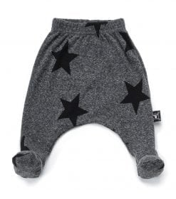 STAR FOOTED BAGGY PANTS