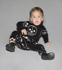 SKULL ROBOT PLAYSUIT