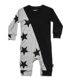 HALF & HALF STAR PLAYSUIT