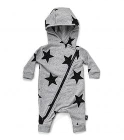 STAR HOODED OVERALL
