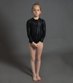 circle long sleeved swimsuit