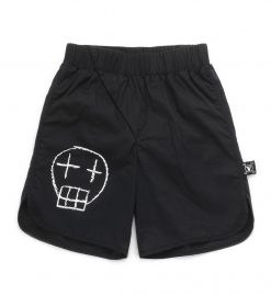 sketch skull surf shorts