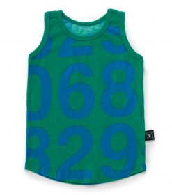 numbered tank top
