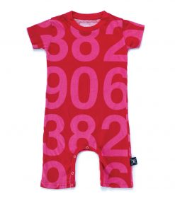numbered playsuit