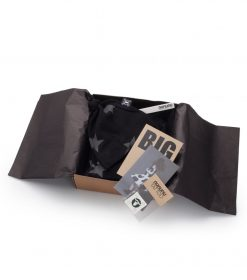 12-18m envelope footed overall set gift box